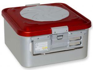 GI-37162 - CONTAINER CON VALVOLA piccolo h150 mm - rosso