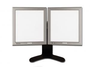 GI-44706 - NEGATIVOSCOPIO ULTRAPIATTO DA TAVOLO LED - 42x72 cm doppio
