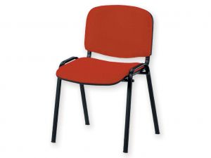 GI-45030 - SEDIA ISO - tessuto - rosso