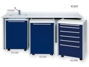 GI-45301 - PIANO DI LAVORO 180 cm - lavello a sinistra