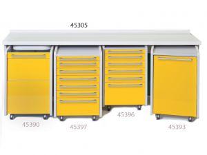GI-45305 - PIANO DI LAVORO 234 cm - senza lavello