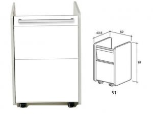 GI-45350 - MOBILETTO S1 - bianco