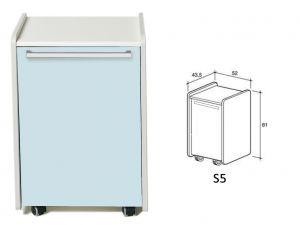 GI-45363 - CASSETTIERA S5 - azzurra