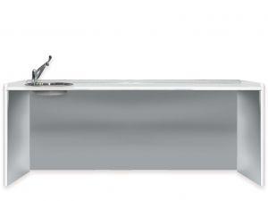 GI-45427 - PIANO DI LAVORO 206 cm - lavello a sinistra