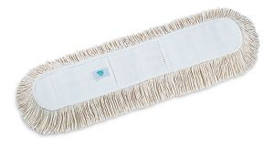 00000274 Frangia Cotone Con Tasche - Bianco - 100 Cm