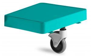 T09079510 Piatto Magic Reggi-Sacco Con Ruota - Verde - Ruota