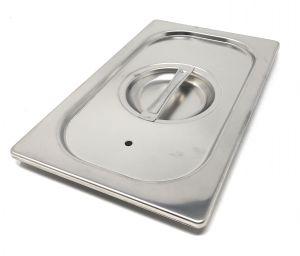 CPR1/4T Coperchio 1/4 in acciaio inox AISI 304 con guarnizione a tenuta