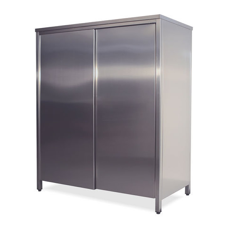 Neutral Cabinet In Stainless Steel Aisi 304 With Sliding Doors Size