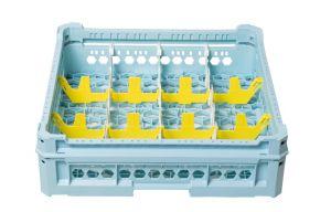 GEN-K33x4 CESTA CLASSICA 12 SCOMPARTI RETTANGOLARI - Altezza bicchiere da 120mm a 240mm