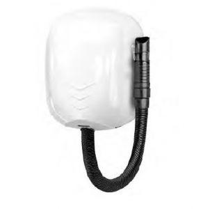 T704550 Asciugacapelli da parete con tubo per uso intensivo