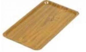 TAV 4585 Vassoio laminato teak Gastronorm 53x32,5 cm