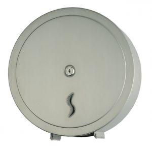 T105009 Distributore di carta igienica acciaio inox AISI 304 satinato 400 metri