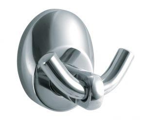 T105203 Appendiabito 2 ganci acciaio AISI 304 satinato