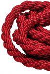 T106341 Cordone rosso bordeaux su misura 1 metro