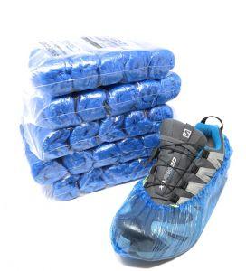 T110050 Copriscarpe standard PE 100 pezzi per dispenser T110006-T110001 (confezione da 5 pezzi totale 500 calzari )