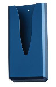 T130018 Distributore di sacchetti igienici carta ABS blu soft-touch