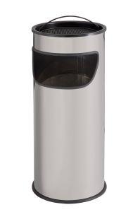 T775012 Portacenere-gettacarte 25 litri metallo grigio a sabbia