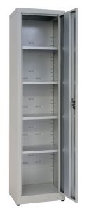 IN-Z.694.03.50 Armadio Portaoggetti a 1 Anta xinco plastificato - 45x50x200 H