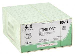 GI-22302 - SUTURA MONOFILAMENTO ETHICON ETHILON - 4/0 ago 19 mm