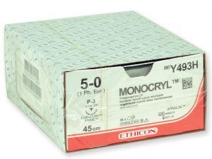 GI-22350 - SUTURA ASSORBIBILE ETHICON MONOCRYL - 5/0 ago 19 mm
