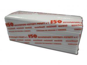 """GI-25200 - SALVIETTINE PIEGATE A """"C""""- 2veli - pacchi da 150 pz."""