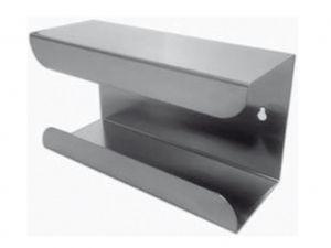 GI-25431 - DISPENSER PER GUANTI - in acciaio INOX
