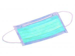 GI-25651 - MASCHERINA 2 VELI - chirurgia - azzurra