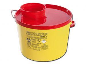 GI-25794 - CONTENITORE RIFIUTI TAGLIENTI LINEA PBS - 7 litri