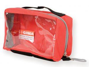 GI-27180 - BORSETTA E1 - rettangolare con finestra - rossa
