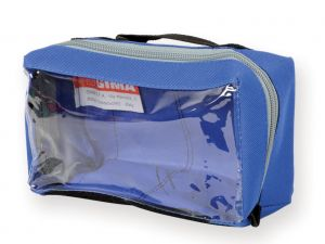 GI-27181 - BORSETTA E1 - rettangolare con finestra - blu
