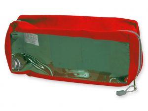GI-27184 - BORSETTA E2 - rettangolare con finestra - rossa