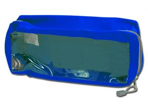 GI-27185 - BORSETTA E2 - rettangolare con finestra - blu