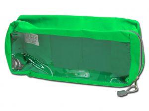 GI-27187 - BORSETTA E2 - rettangolare con finestra - verde