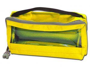 GI-27190 - BORSETTA E3 - imbottita con manico - gialla