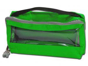 GI-27191 - BORSETTA E3 - imbottita con manico - verde