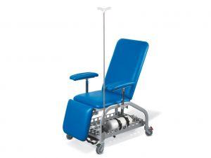GI-27561 - POLTRONA DONATORI con ruote - blu